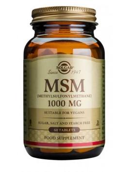 Solgar MSM 1000mg - 60tabs