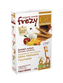 Frezyderm Frezylac Δημητριακά με Γάλα και Φρούτα 200gr
