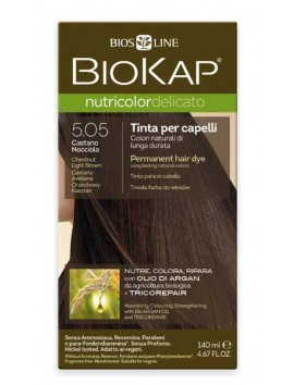 Biokap Nutricolor Delicato 5.05 Chestnut Light Brown 140ml