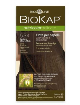 Biokap Nutricolor Delicato 5.34 Honey Chestnut 140ml