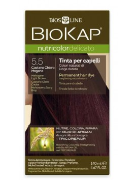 Biokap Nutricolor Delicato 5.5 Mahogany Light Brown 140ml