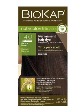 Biokap Nutricolor Delicato 4.0 Rapid Natural Brown 135ml
