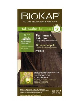 Biokap Nutricolor Delicato 5.0 Rapid Natural Light Chestnut 135ml