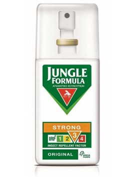 Jungle Formula Strong Original Εντομοαπωθητικό Spray 75ml