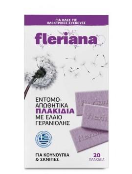 Power Health Fleriana Εντομοαπωθητικά Πλακίδια - 20τεμ.