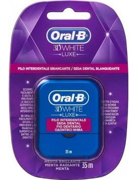 Oral-B 3D White Luxe Οδοντικό Νήμα 35m