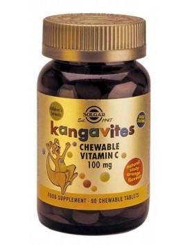 Solgar Kangavites Vitamin C 100mg - 90chew.tabs