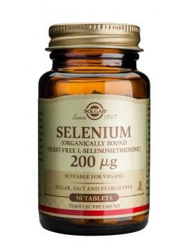 Solgar Selenium 200μg - 50tabs
