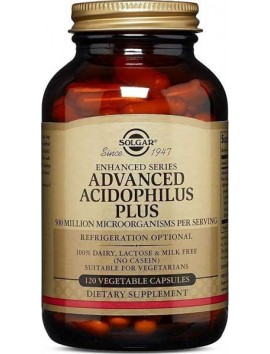 Solgar Advanced Acidophilus Plus 120veg.caps