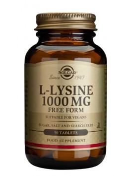 Solgar L-Lysine 1000mg - 50tabs