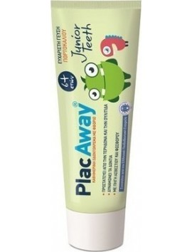 Plac Away Junior Teeth Οδοντόκρεμα 6+ 50ml