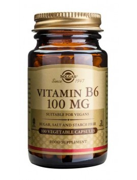Solgar Vitamin B6 100mg - 100veg.caps