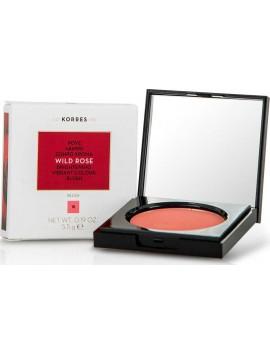 Korres Wild Rose Brightening Vibrant Colour Bluch 18 Peach - 5,5gr