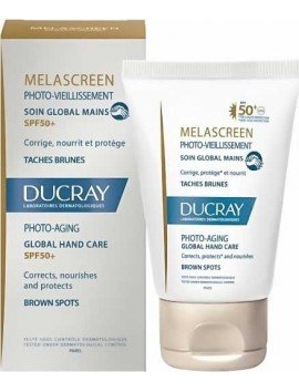 Ducray Melascreen Photo-Aging Soin Global Mains SPF50+ - 50ml