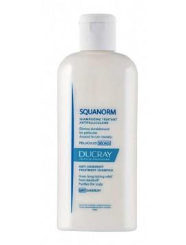 Ducray Squanorm Αντιπιτυριδικό Σαμπουάν για Ξηρή Πιτυρίδα 200ml