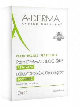 A-Derma Dermatological Cleansing Bar Soothing 100gr