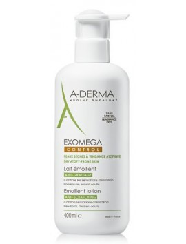 A-Derma Exomega Control Emollient Lotion Anti-Scratching 400ml