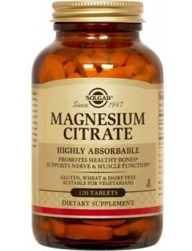 Solgar Magnesium Citrate 120tabs