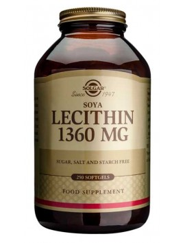 Solgar Lecithin 1360mg - 250softgels