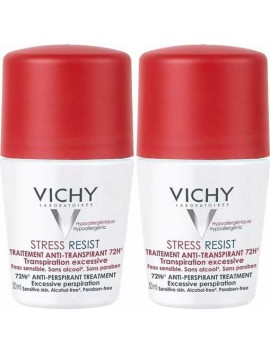 Vichy Deodorant Stress Resist 72H Roll On 2x50ml