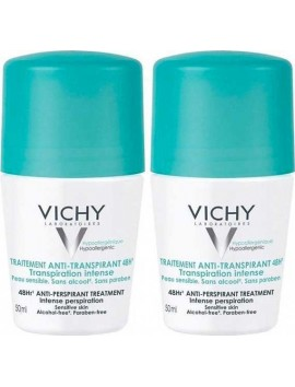 Vichy Deodorant 48H Roll On 2x50ml