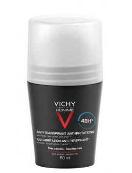 Vichy Homme Deodorant Anti-Transpirante Roll-On48H 50ml