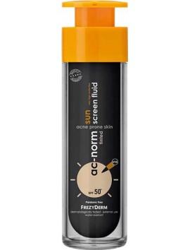 Frezyderm Ac-Norm Sunscreen Fluid Tinted SPF50+ - 50ml