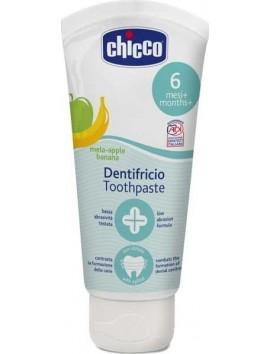 Chicco Dentifricio Toothpaste 6m+ Οδοντόκρεμα (Μήλο-Μπανάνα) - 50ml