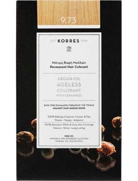 Korres Argan Oil Ageless Colorant 9.73 Χρυσό Καστανό