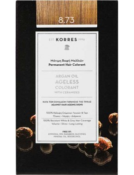 Korres Argan Oil Ageless Colorant 8.73 Χρυσή Καραμέλα