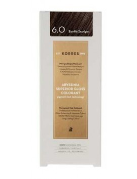 Korres Abyssinia Superior Gloss Colorant 6.0 Ξανθό Σκούρο 50ml