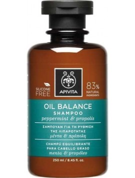 Apivita Oil Balance Shampoo 250ml