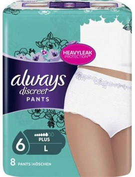 Always Discreet Pants Large 8τεμ.