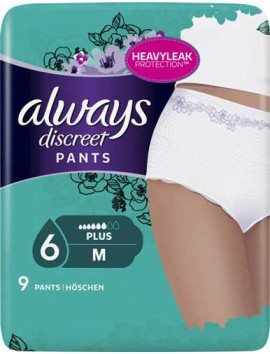 Always Discreet Pants Medium 9τεμ.