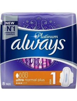 Always Platinum Ultra Normal Plus Size 1 - 8τεμ.