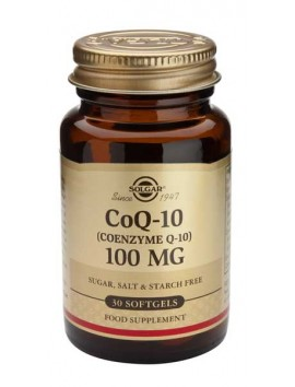Solgar CoQ-10 100mg - 30softgels