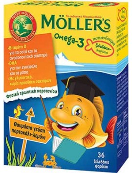 Moller's Omega-3 36 Ζελεδάκια