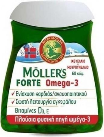 Moller's Forte Omega-3 - 60caps