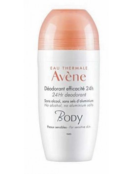 Avene Body Deodorant Efficacite 24h - 50ml