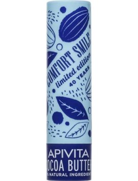 Apivita Lip Care Cocoa Butter SPF20 - 4,4gr Limited Edition
