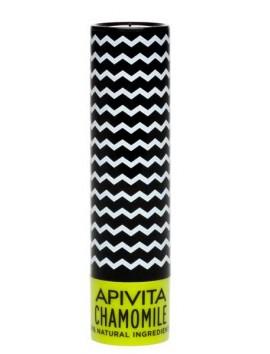 Apivita Lip Care Chamomile SPF15 - 4,4gr