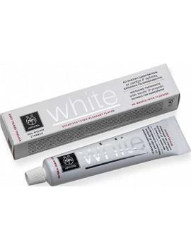 Apivita Natural Dental Care White Οδοντόκρεμα με Μαστίχα & Πρόπολη - 75ml