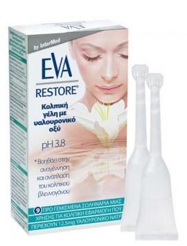 Eva Restore Vaginal Gel pH3.8 - 9tubes x5gr