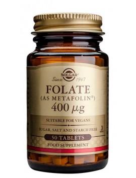 Solgar Folate 400μg - 50tabs