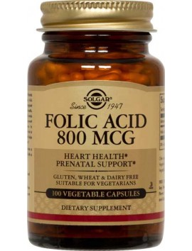 Solgar Folacin 800μg - 100tabs