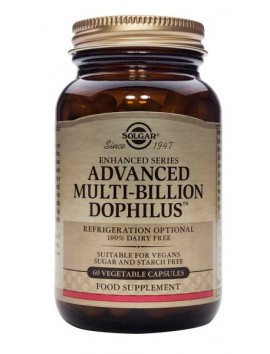 Solgar Advanced Multi-Billion Dophilus - 60veg.caps