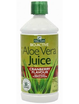 Optima Aloe Vera Juice Cranberry Flavour - 1Litre