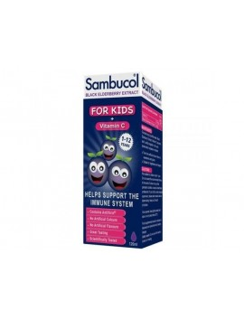 Sambucol Black Elderberry for Kids + Vitamin C 120ml