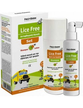 Frezyderm Lice Free Set 2x125ml