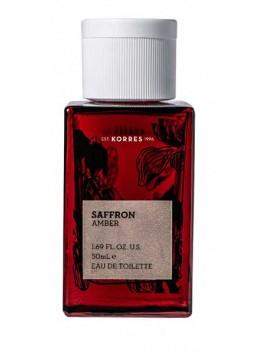 Korres Saffron Amber Eau De Toilette 50ml
